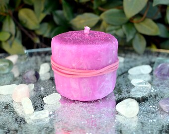 Fairy Blessing Candle, Blessing Candle, Scented Candle, Handmade Candle, Fairy Dust, Fairy Magic, Spell Candle, Magic Candle, Fairy Blessing