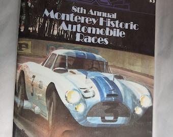 8th annual monterey historic automobile races- 1981- Laguna Seca Raceway