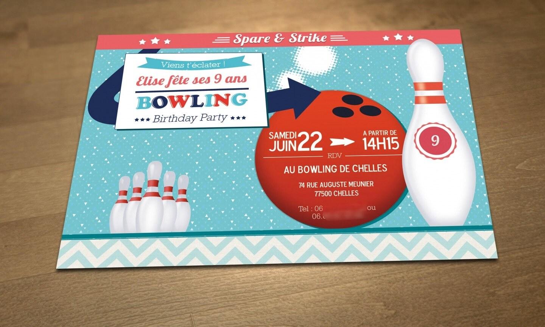 anniversaire bowling chelles