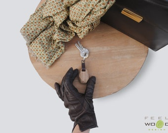 Wooden keychain, wooden accessories, key ring, mens gift, unisex accessories, birthday gift, keychain gift, Accessories