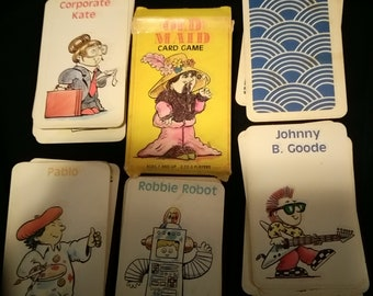 Old Maid Kids card game
