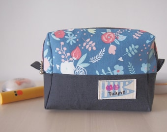 Spring flowers mini pouch