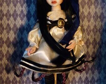 Sadako, handmade doll, unique piece