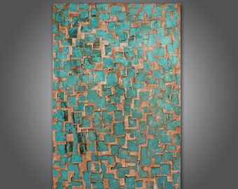 Original acrylic abstract painting  Michel No. 3