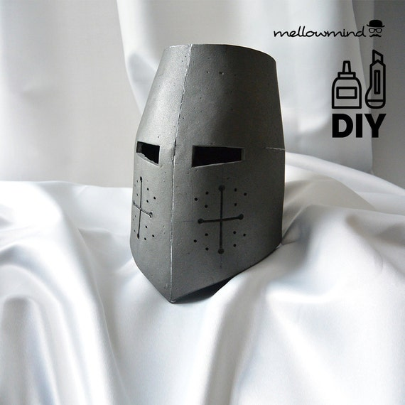 DIY Knight Helmet Template for EVA foam version A