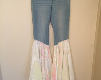 Mermaid Flare Jeans - Women