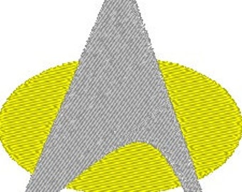 Star Trek Insignia - Embroidery File - 4x4