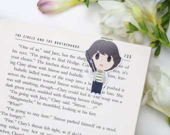 Stranger Things - Magnetic bookmark - Mike Wheeler || geek gifts, hawkins, tv show, eleven, dustin, happy planner, stranger things gift