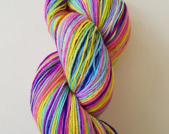 LOLA. the brush-dyed wool skein