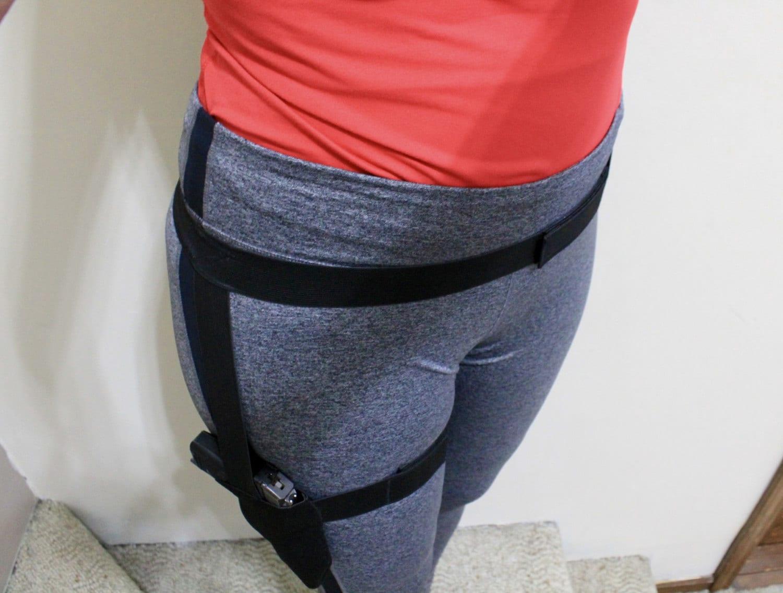 High Waist Running leggings women Mobile Phone pocket