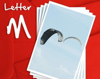Alphabet Photography Letter M Choices, Alphabet Photography 6x4, 7x5 or 8x6 Prints