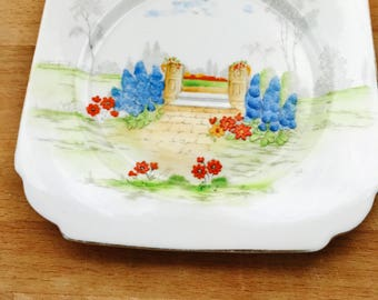 Vintage Ceramic Waring & Gillow Plate