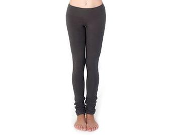 Tall Girl Leggings -  Extra Long Leggings - Tall Women Clothing - Organic Leggings - Best Leggings - Eco Friendly Yoga Clothes