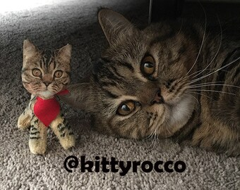 Stuffed Cats Etsy