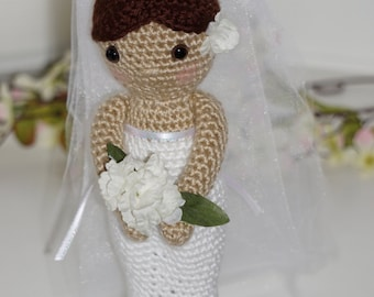 Bride Doll Amigurumi Crochet Pattern