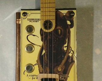 3-String Steampunk Cigar Box Guitar
