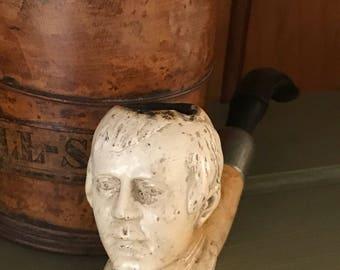 Antique Meerschaum Pipe Of Robert Burns