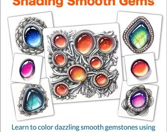 3D Tangle Shading Smooth Gems - 2nd Edition - Download PDF Tutorial Ebook