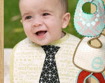Little Bitty Baby Bib Sewing Pattern by Thimble Blossoms