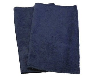 Microfiber Swiffer Sweeper Pads- Set of 2- NAVY- Refill- Reusable- Ecofriendly