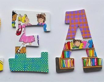 Just B and That's All READ Letters -- Set of 4