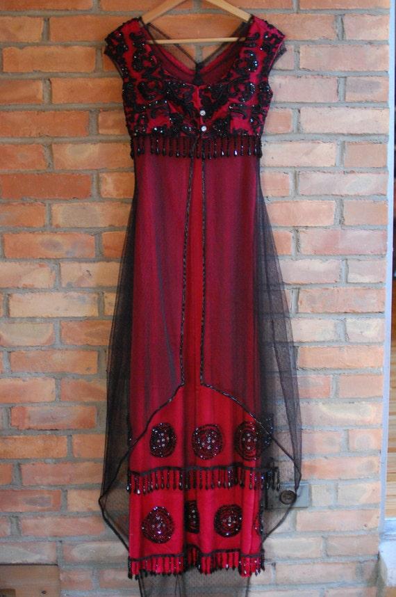 Titanic Red Dresses – Fashion design images