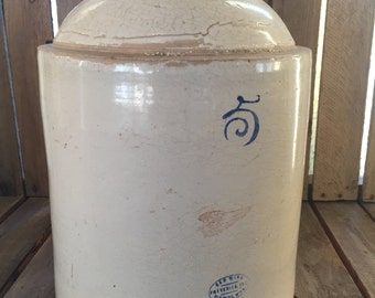 Vintage Redwing 5 Gallon Earth Ware