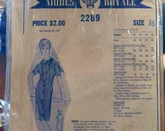Modes Royale Pattern Sheath Jumper