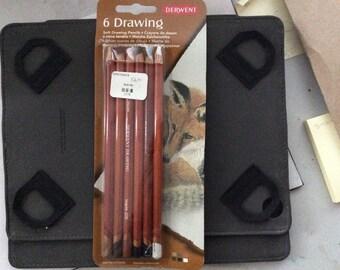 6 Derwent Drawing Pencils