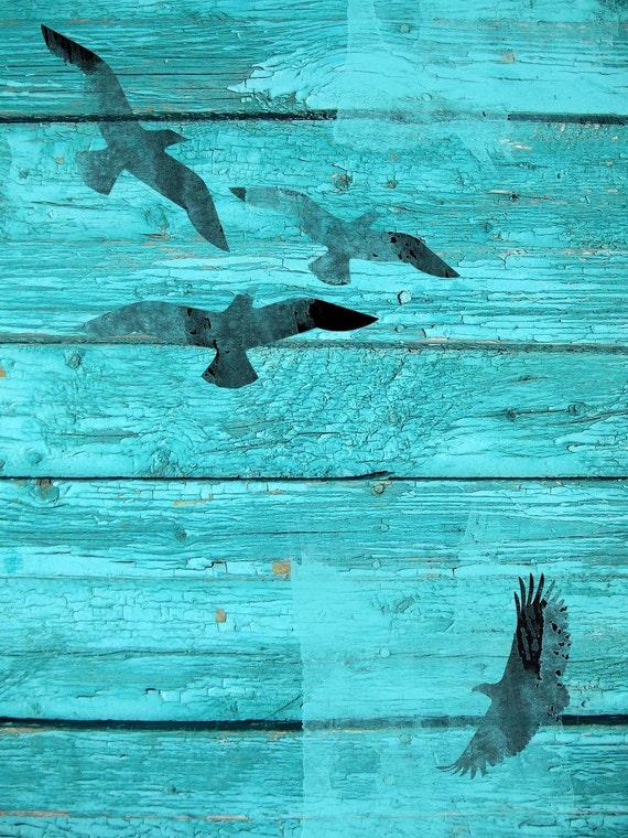 "Birds in sky I. Canvas Print by Irena Orlov 20X16"""