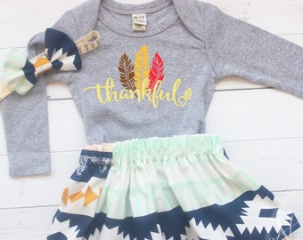 Girl Thanksgiving Outfit, Baby Thanksgiving Outfit Girl, Baby Girl Clothes, My First Thanksgiving, Thanksgiving Shirt, Turkey Day Outfit,