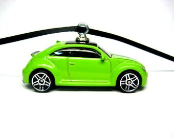 2012 2013 2014 2015 2016 2017 VW Volkswagen Beetle Bug Car Hot Wheels Ornament