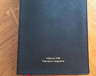 BIbla Haitian BIble Pawol Bondye An Ayisyen Societe Biblique Haitienne 1999