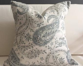 Pillow Cover, Cream Floral Pillow Cover, CLARA