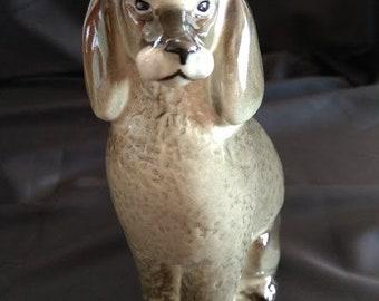 Statuette of a dog Vintage dog Retro decor Vintage gift Vintage statuette Collectible figurine Collectible dog Dog figurine
