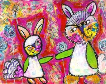Bunny Love by Cheryl