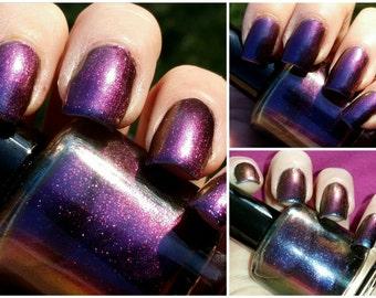 Magic Trick,multichrome nail polish, indie nail polish 5 free nail polish, paint it pretty polish 15 ml