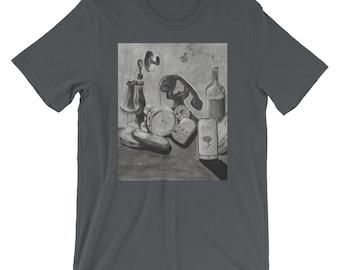 Phone Evolution T-Shirt -Asphalt, Black, Heather