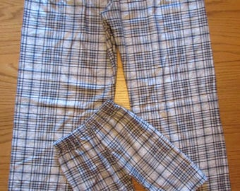 Plaid flannel pajama bottoms,family pajamas,Christmas pajamas,matching pajamas,plaid pajama pants,his and hers,father and son
