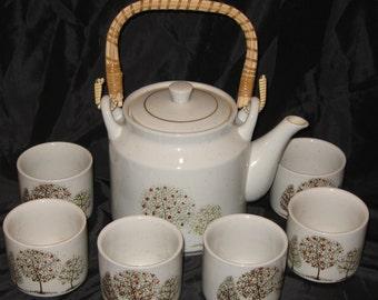 Vintage Hand Crafted Otagiri Original Japan Tea Set
