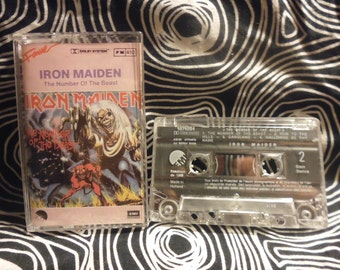fr tape IRON MAIDEN the number of the beast