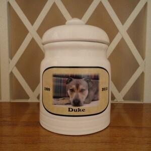 Dog Urn, Memorial, Pet Urn,
