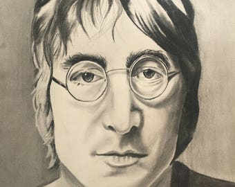 John Lennon  8 x 12 in.