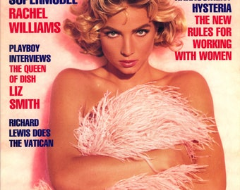 Playboy Magazine February 1992 Excellent Plus Condition Mature Rachel Williams