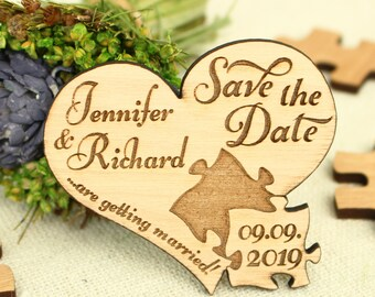 Heart Save the Date wedding save the date wood save the date wood wedding save the date unique save the date rustic wedding