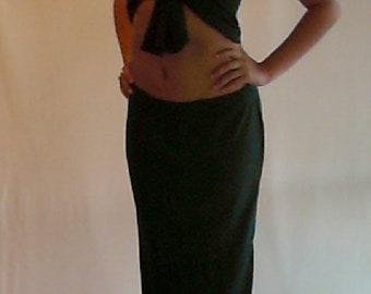 Tie Top / Tropical Skirt
