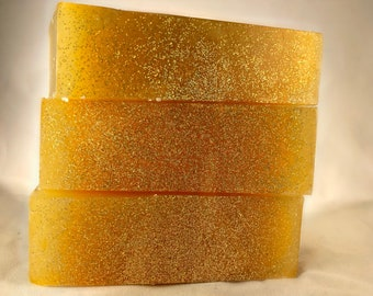 Glycerin Soap with Glitter Cirtus