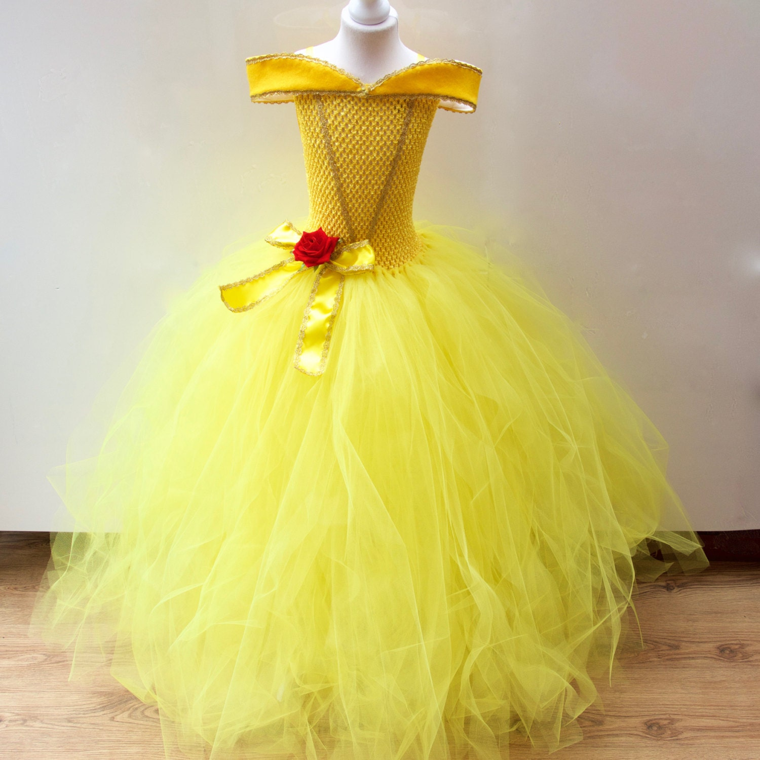Extrêmement Disney Belle Beauty & the Beast inspired Gown Prom Belle CI28