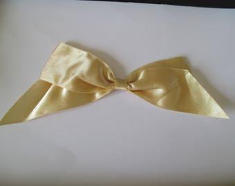 large satin bow