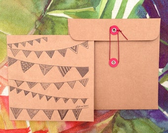 Bunting - Special occasion card